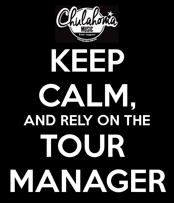 Keep calm and rely on the tour manager